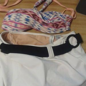 Bikini Top and Bathing Skirt